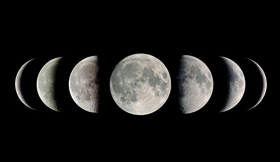 Лунные фазы.